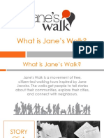 What is Jane's Walk? - Vancouver 2018