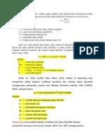 Konsentrasi parameter kualitas udara ambien yang terjadi akibat diemisikannya debu dan gas oleh sumber emisi gas secara teoritis dapat ditentukan berdasarkan rumus berikut.docx