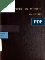 Hanslick_OnTheBeautifulInMusic_Ch2