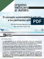 5 El Concepto Sustentabilidad Aplicado a Los Pavimentos Asfalticos