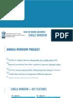 Single Window Project Presentation Dec 2016