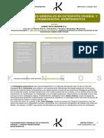 Consideraciones en Osteopatia Craneal y Terapia Craneosacral Biointegrativa