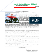 Bulletin d'Information #9. Avril 2018