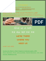 Welcome to Nte Electronics Lab Brochure