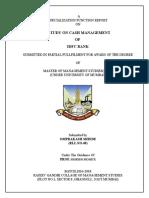 Cash-management on Idfc Bank Omprakash