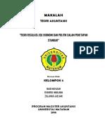 Makalah Kelompok v Teori Regulasi Isu Ekonomi Dan Politik Penetapan Standar (1)