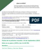 DECA App in Spanish