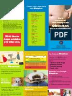 Leaflet Obesitas Puskemas