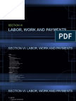 Labor, Work and Payments