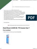 ACER B1-770 IconiaOne7_Reseteardefábrica