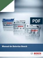 Manual de Baterias Automotiva Bosh