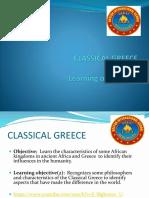 Classical Greece 8th 2018