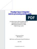 Paradigm Epos 4 Integrated Seismic Processing