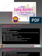 8th Science Eating Disorders
