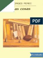 Las Cosas - Georges Perec