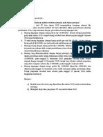 Tugas 1 - Auditing II