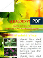 KEMOTERAPI KANKER (ALKALOID VINCA) KELOMPOK 6 KELAS E.pptx