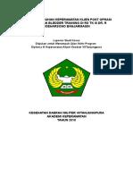 Gambaran Asuhan Keperawatan Klien Post Oprasi Bph Dengan Pemberian Teknik Relaksasi Nafas Dalam Di Ruang Sakti Rs Tk III Dr