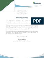 Fato Relevante AES Tietê_Guidance CAPEX