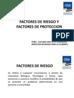 Base de Datos (Factores de Riesgo y Factores de Proteccion)