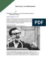 Allende. Demócrata y revolucionario