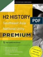 National Unity Model Essays/ H2 History 2019 2020