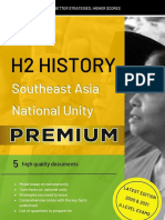 National Unity Model Essays/ H2 History 2019 2020