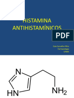 Aula - Histamina e Antihistamínicos, 2016 2