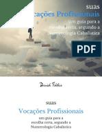 eBook Suas Vocacoes Profissionais