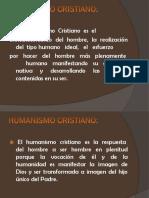 El Humanismo Cristiano