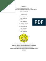 Proposal Praktek Kerja Lapangan - Teknik Informatika