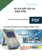 FSH_Máy Phân tích phổ cầm tay R&S FSH