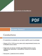 Corrientes Te Ricas Conductismo y Aprendizaje