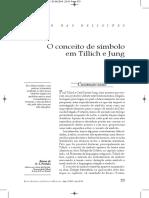 SÍMBOLO EM P TILLICH E JUNG.pdf