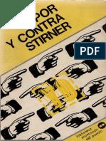 DIAZ, Carlos, Por y contra Stirner, ZERO-ZYX, 1975