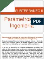3º Parámetros de Ing MiS II30!15!03 18 PowerPoint