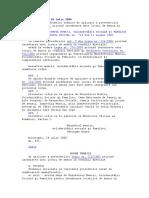 ORDIN 572 Din 24.07.2006 Normelor Tehnice de Aplicare a L 226 Din 2006 Conditii Speciale