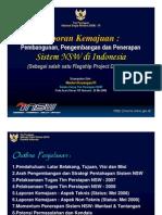 Pembangunan Pengembangan dan Penerapan Sistem NSW di Indonesia