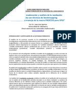 """""""Mediación, Moderación y Análisis de La Mediación Moderada Spss"""