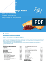 Priv and Privprem Travel Ins Summary