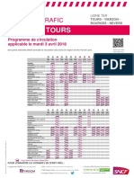 Tours - Vierzon - Bourges - Nevers