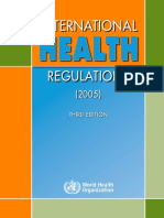 International Health Regulation 2005 3rd Edition