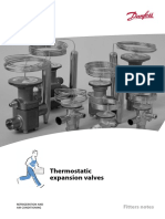 Valvulas de Expansion Termostaticas CATALOGO DANFOSS