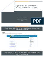Indonesian Journal of Electrical Engineering and Computer Science