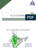ITC E Choupal PPT Final