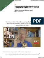 O Que é a EFT – Equilíbrio Contínuo – EFT_ Acupuntura Emocional Sem Agulhas Ou Tapping