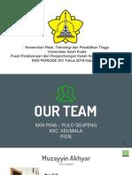 Presentasi Kkn Po45 Pulo Seupeng Kec. Keumala