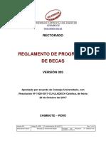 Reglamento Programas Becas v003