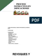 Proceso Constructivo en Edificaciones 3