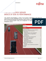FUJITSU PRIMERGY SERVER BASICS OF DISK I/O PERFORMANCE